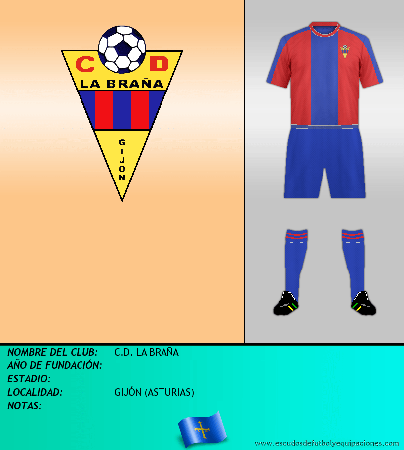 Escudo de C.D. LA BRAÑA