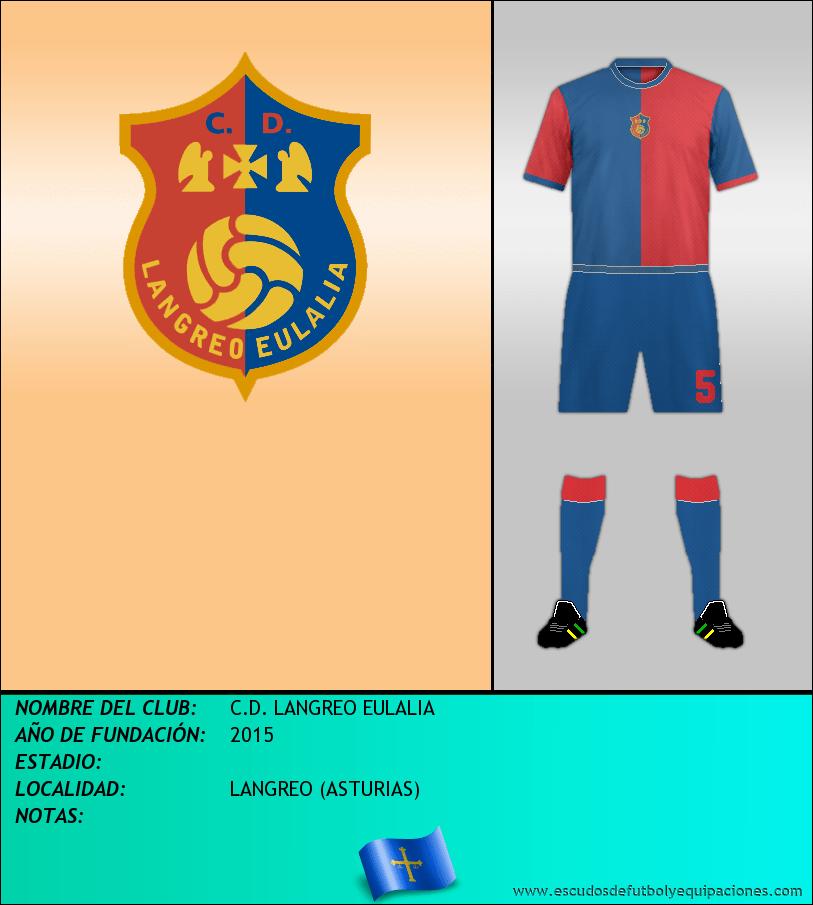 Escudo de C.D. LANGREO EULALIA
