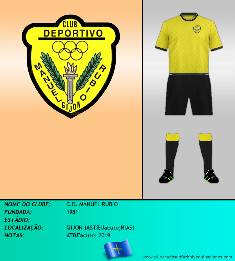 Escudo de C.D. MANUEL RUBIO