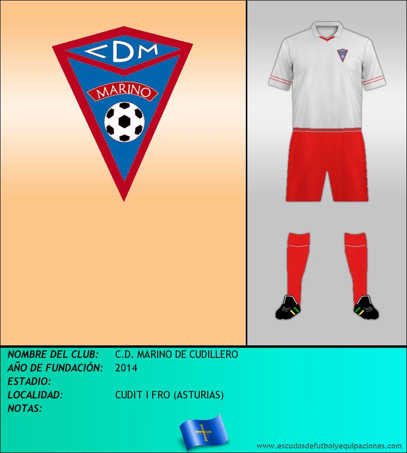 Escudo de C.D. MARINO DE CUDILLERO