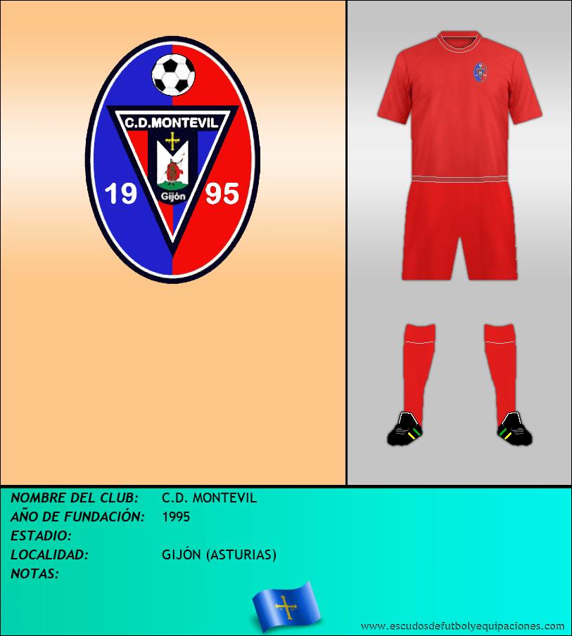 Escudo de C.D. MONTEVIL