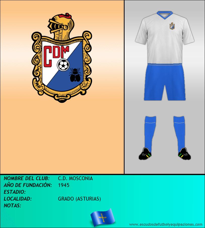 Escudo de C.D. MOSCONIA
