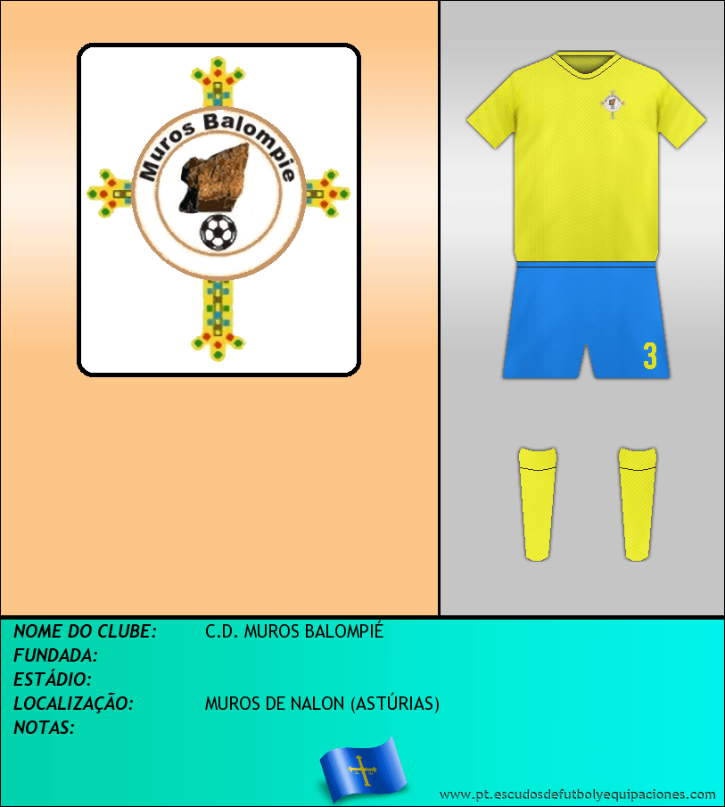 Escudo de C.D. MUROS BALOMPIÉ