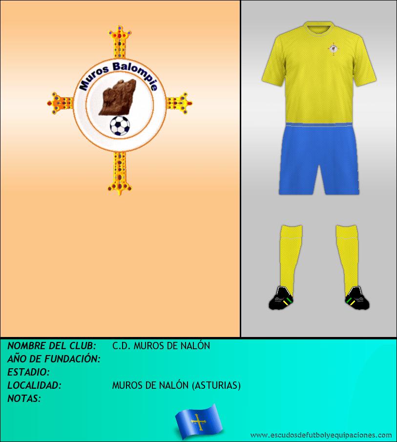 Escudo de C.D. MUROS DE NALÓN