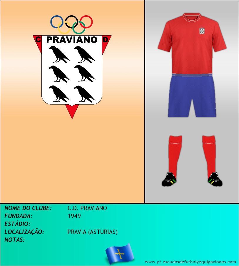 Escudo de C.D. PRAVIANO