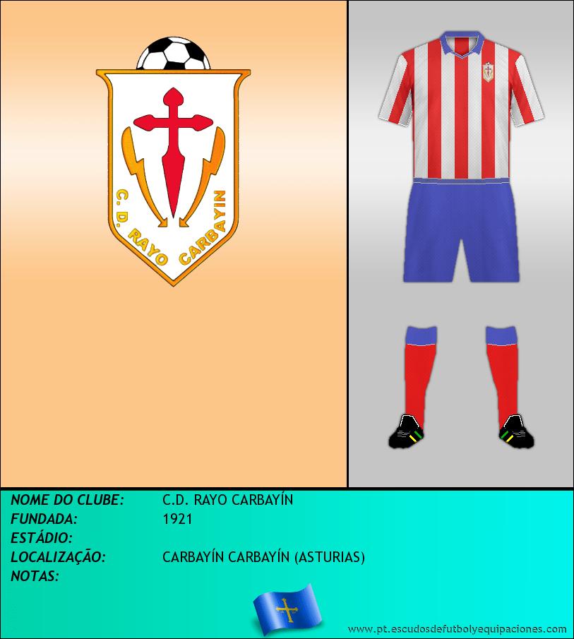 Escudo de C.D. RAYO CARBAYÍN