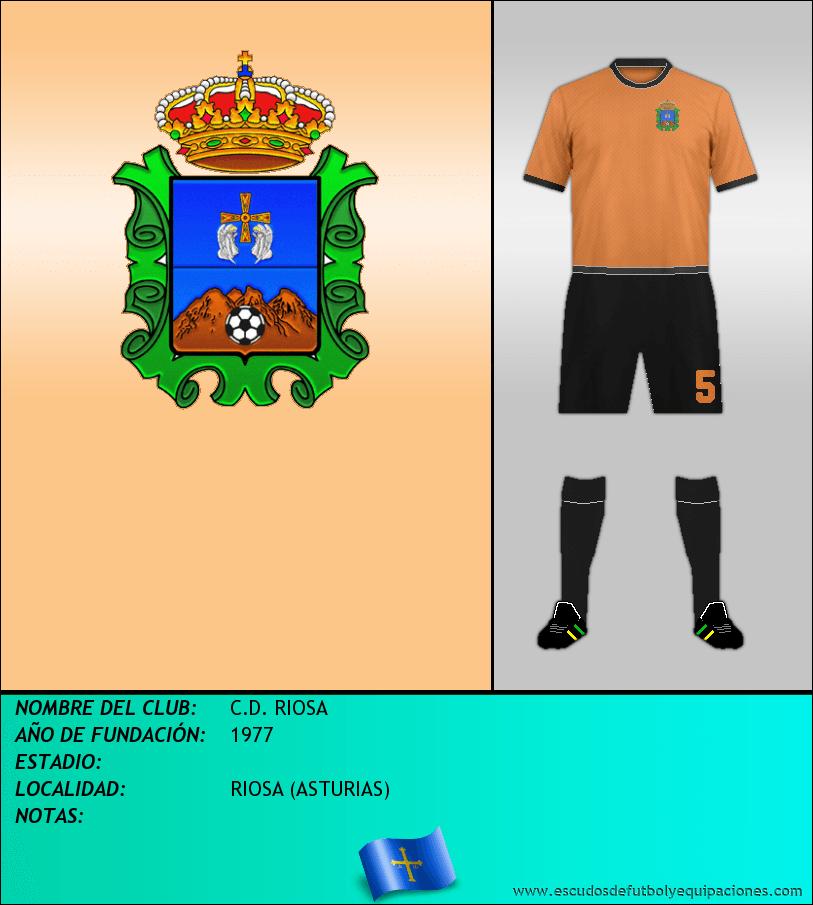 Escudo de C.D. RIOSA