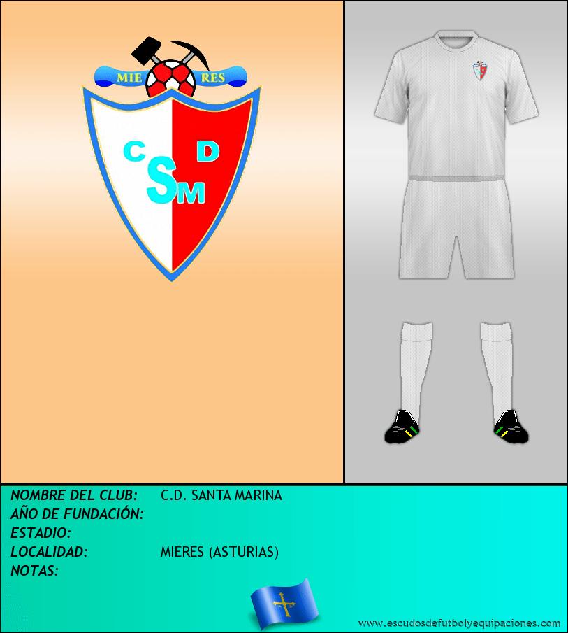 Escudo de C.D. SANTA MARINA