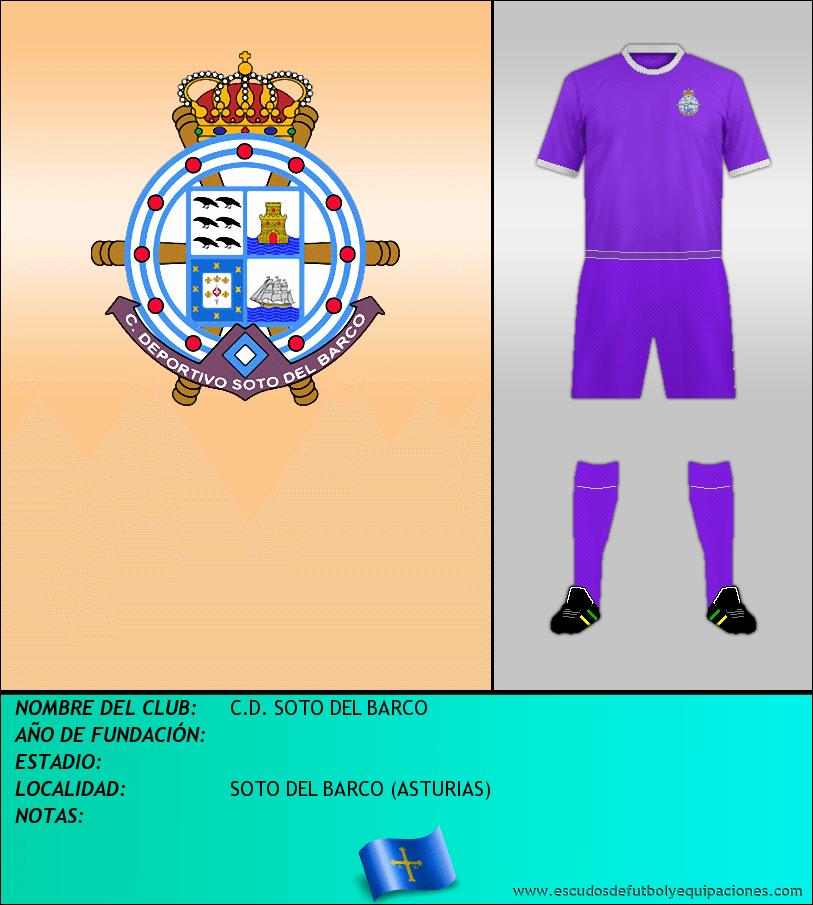Escudo de C.D. SOTO DEL BARCO