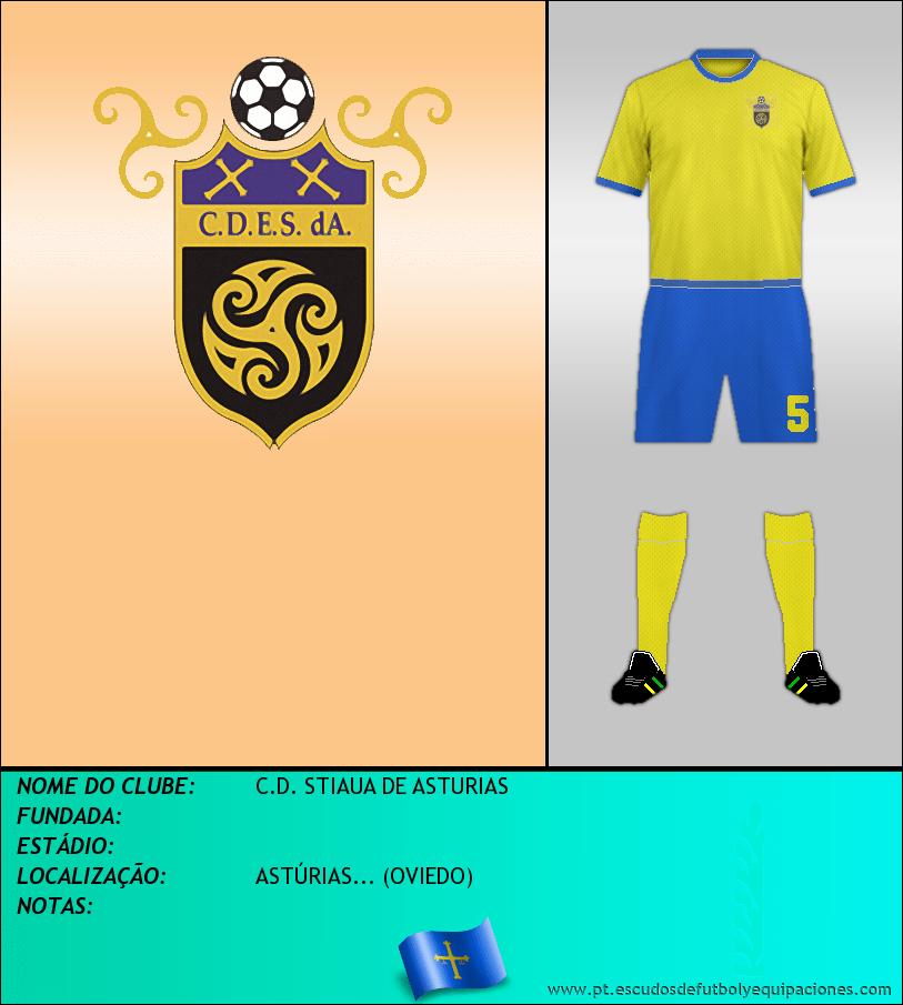 Escudo de C.D. STIAUA DE ASTURIAS