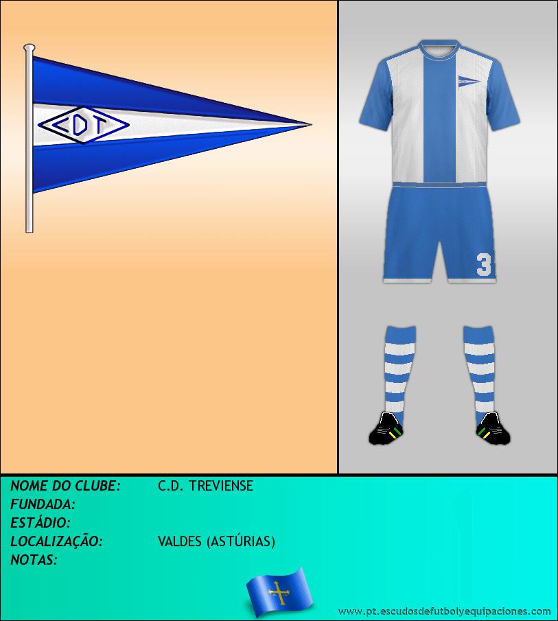 Escudo de C.D. TREVIENSE