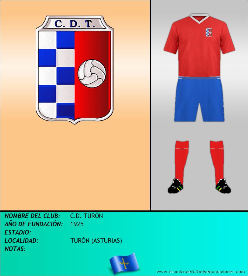 Escudo de C.D. TURÓN