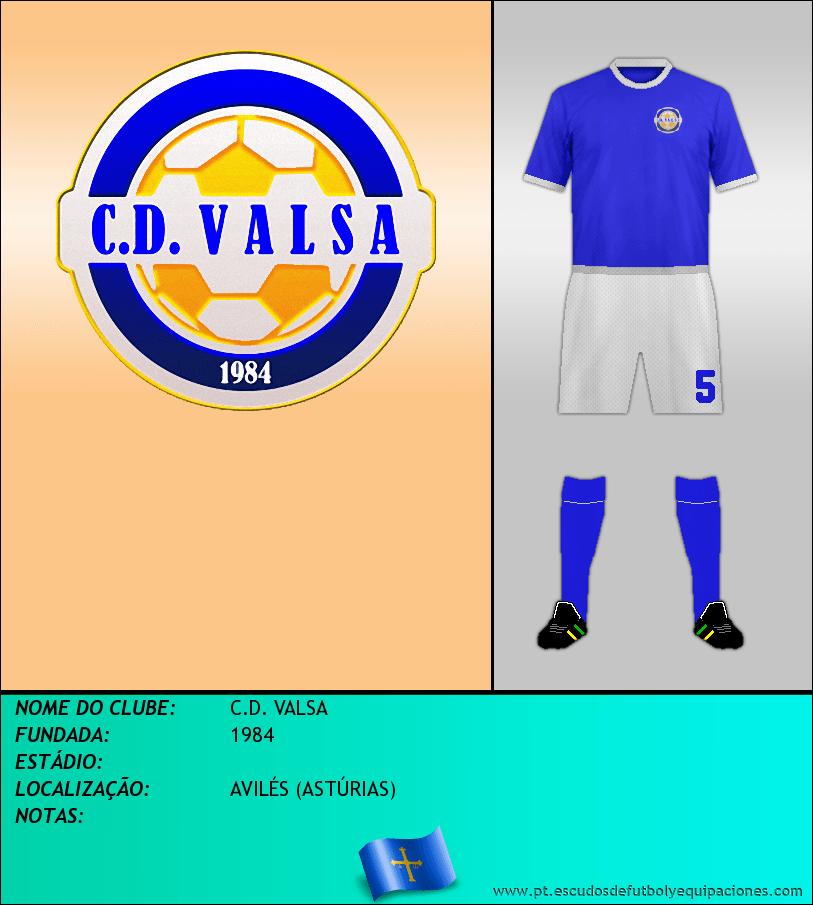 Escudo de C.D. VALSA
