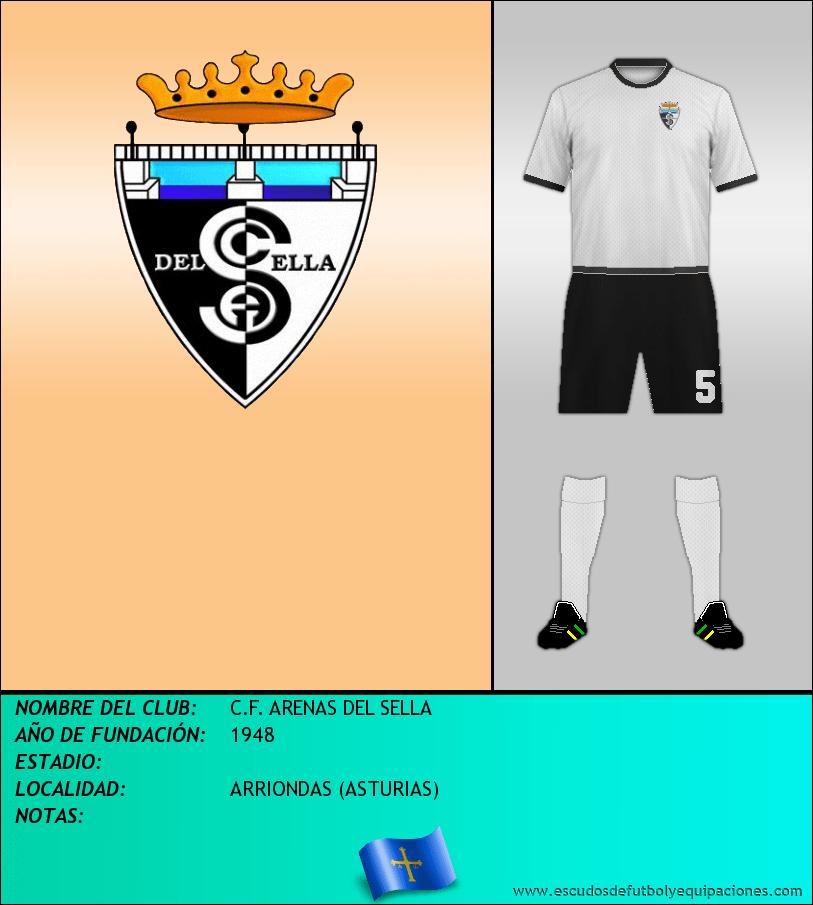 Escudo de C.F. ARENAS DEL SELLA