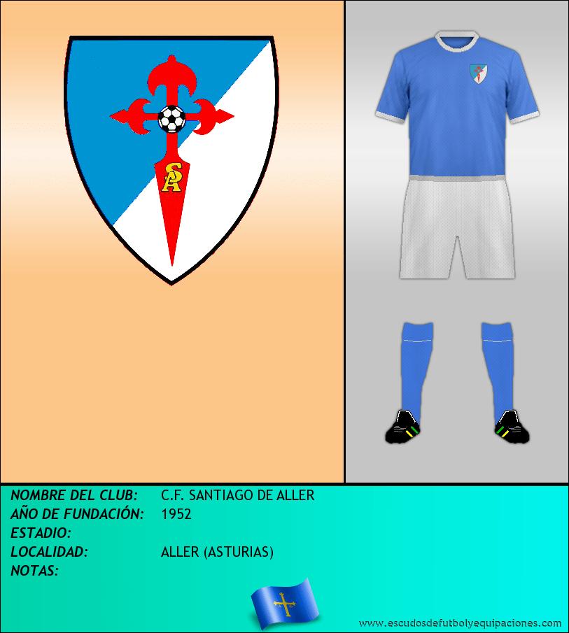 Escudo de C.F. SANTIAGO DE ALLER
