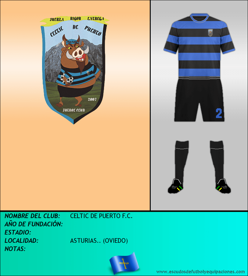 Escudo de CELTIC DE PUERTO F.C.