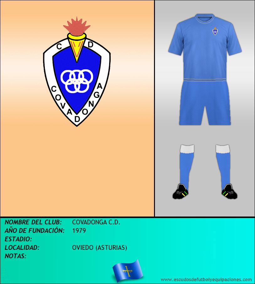 Escudo de COVADONGA C.D.