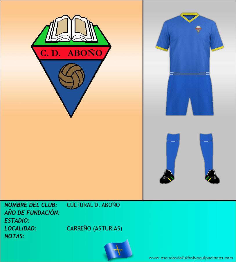Escudo de CULTURAL D. ABOÑO