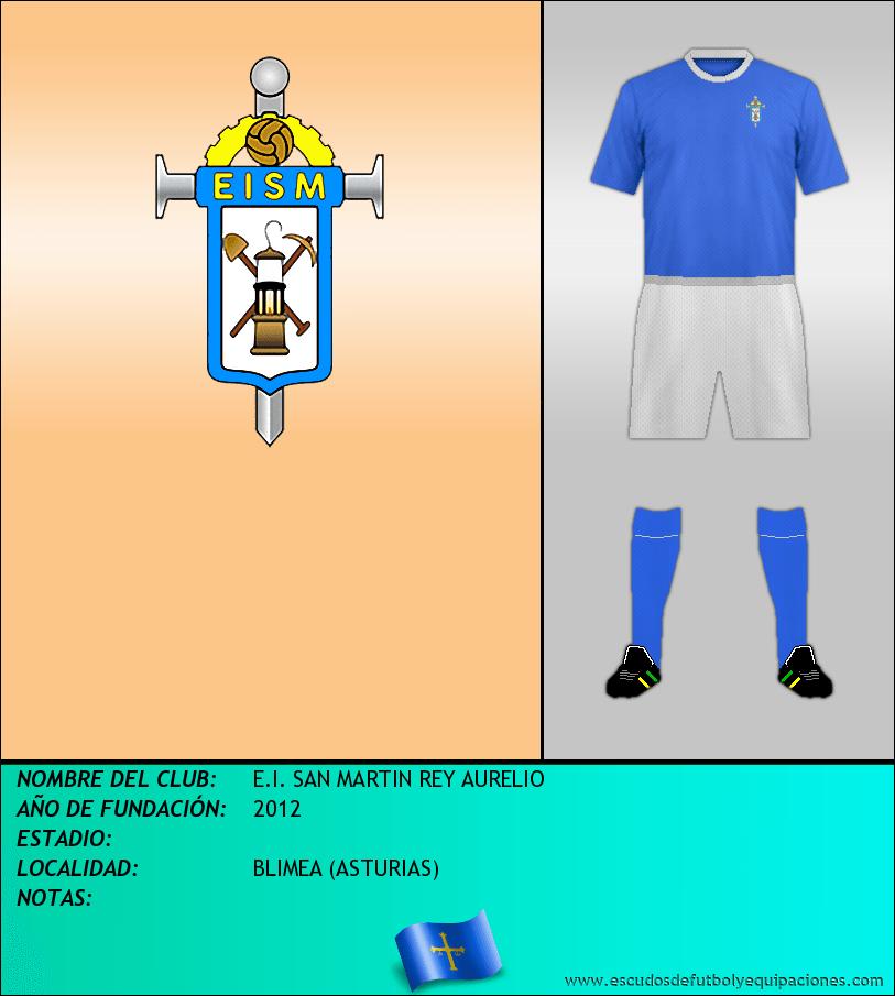 Escudo de E.I. SAN MARTIN REY AURELIO