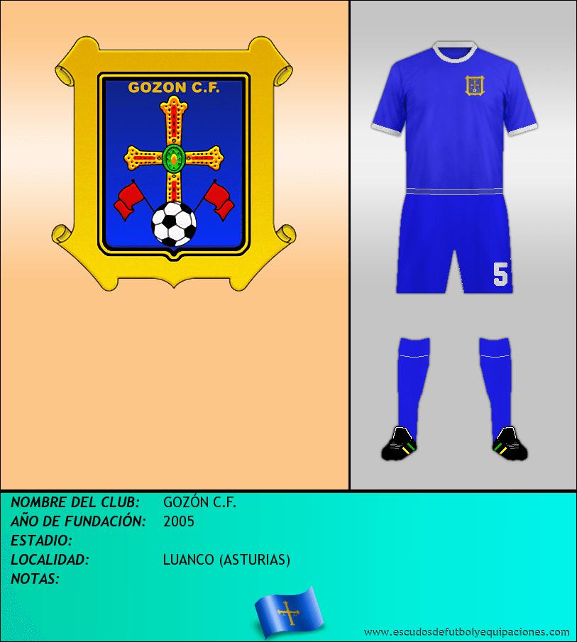 Escudo de GOZÓN C.F.