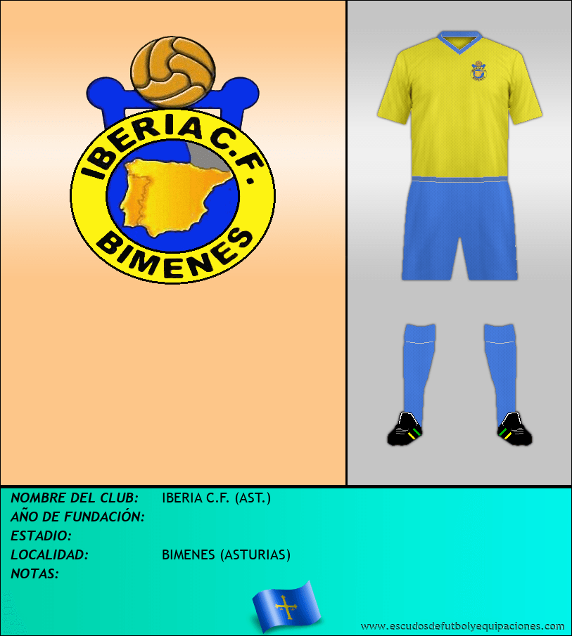Escudo de IBERIA C.F. (AST.)