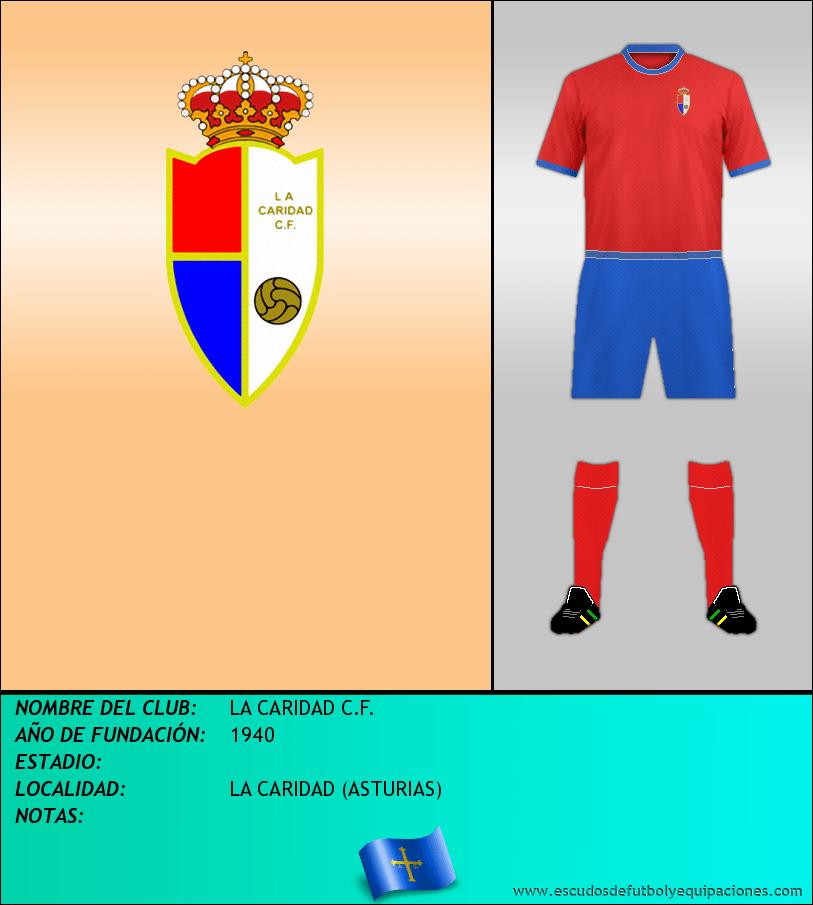 Escudo de LA CARIDAD C.F.