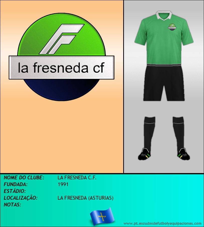 Escudo de LA FRESNEDA C.F.