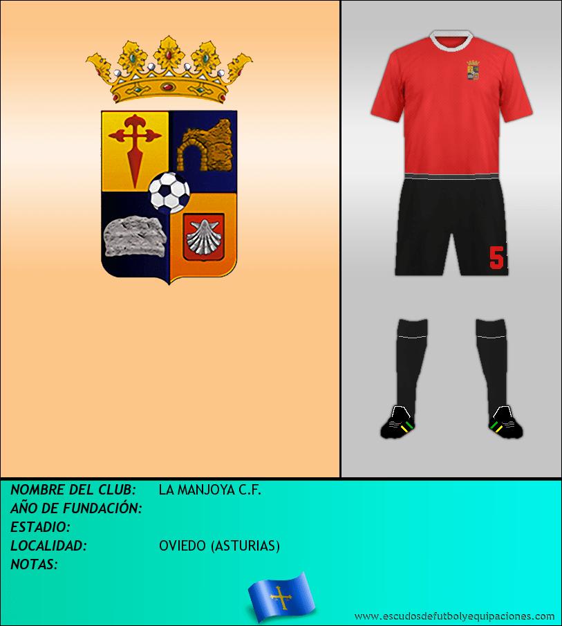 Escudo de LA MANJOYA C.F.