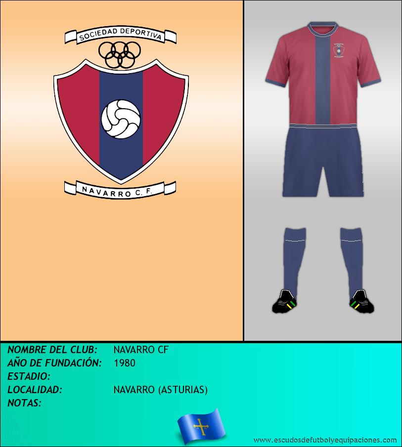 Escudo de NAVARRO CF
