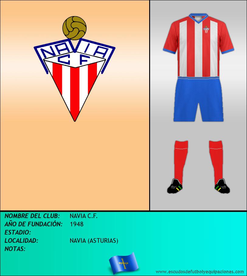 Escudo de NAVIA C.F.