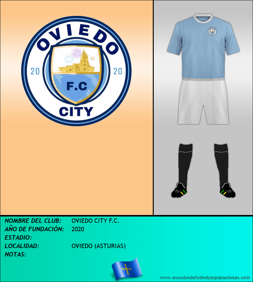 Escudo de OVIEDO CITY F.C.