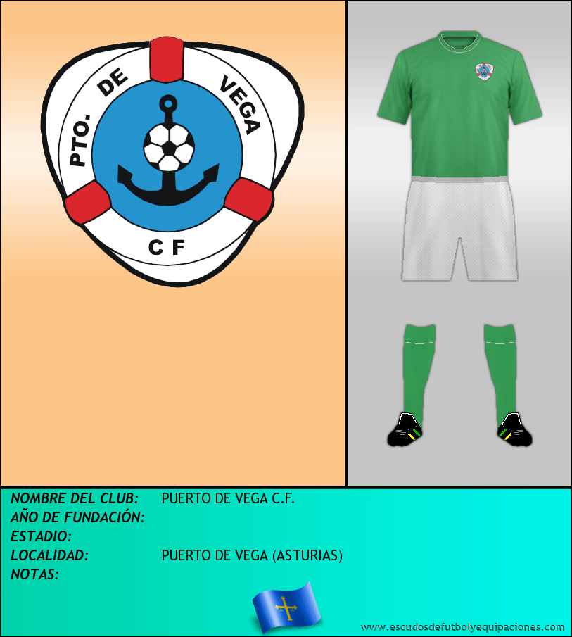 Escudo de PUERTO DE VEGA C.F.