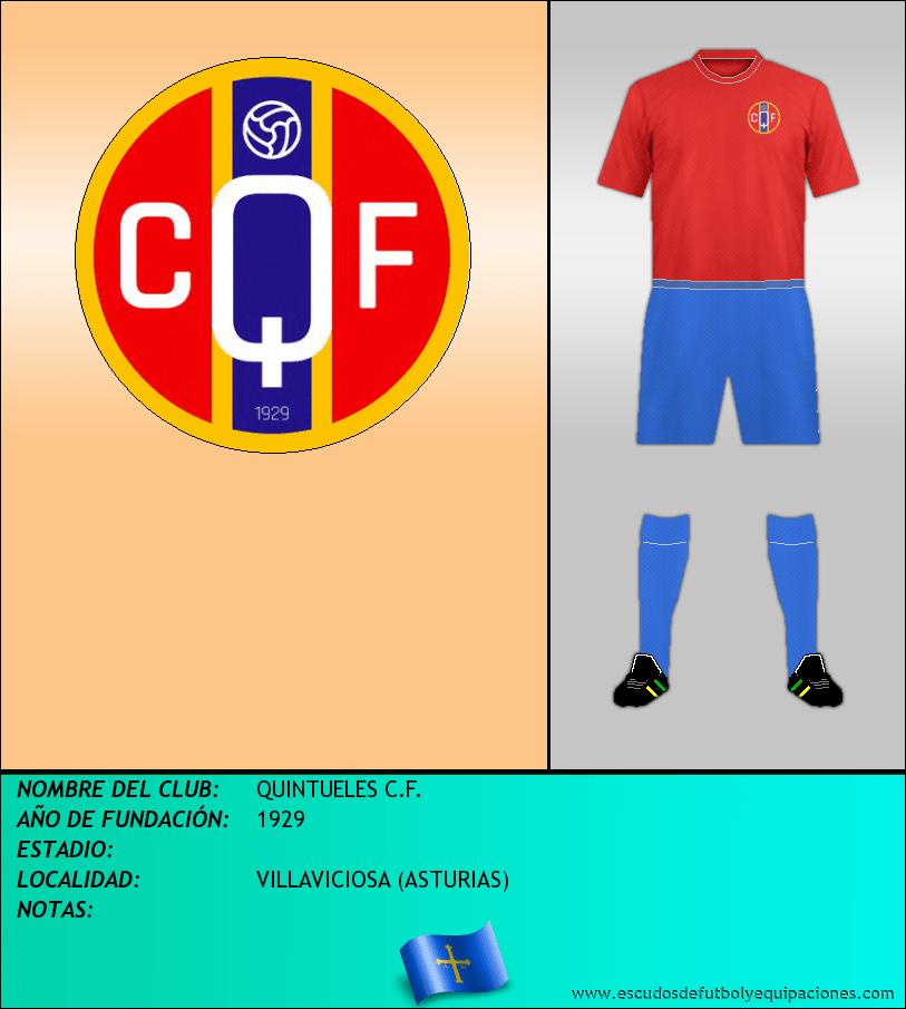 Escudo de QUINTUELES C.F.