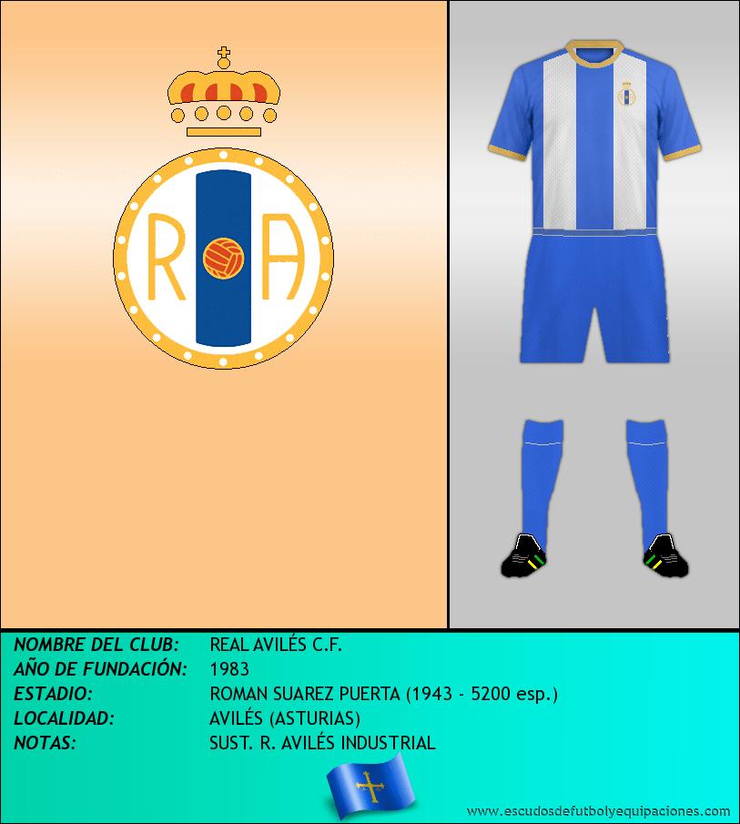 Escudo de REAL AVILÉS C.F.