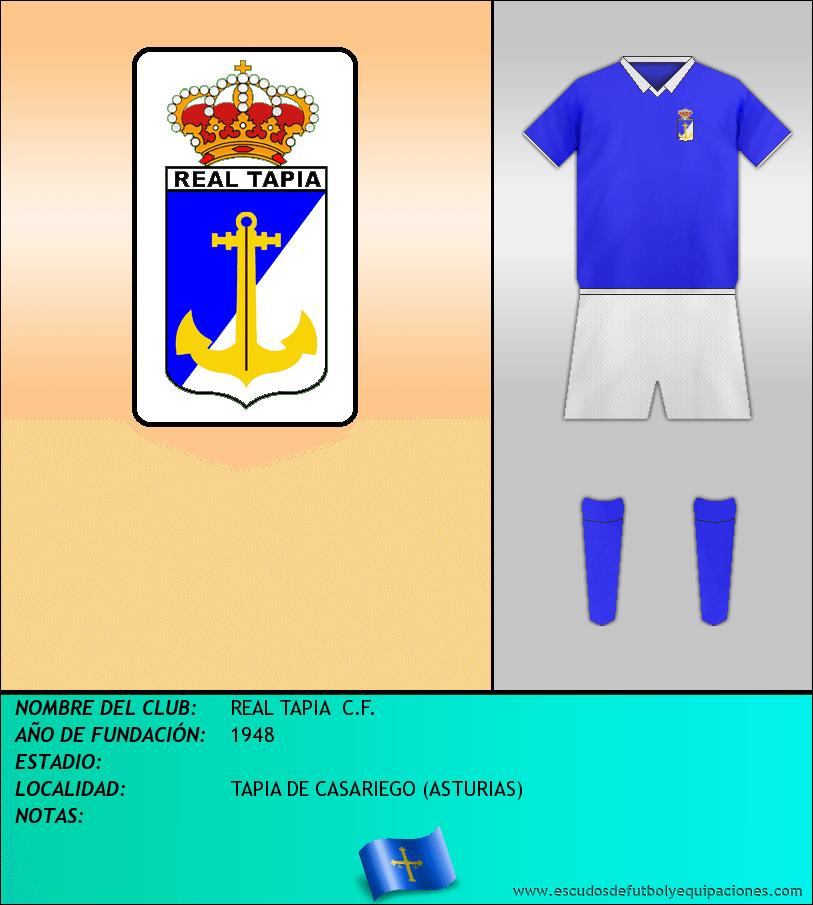 Escudo de REAL TAPIA  C.F.