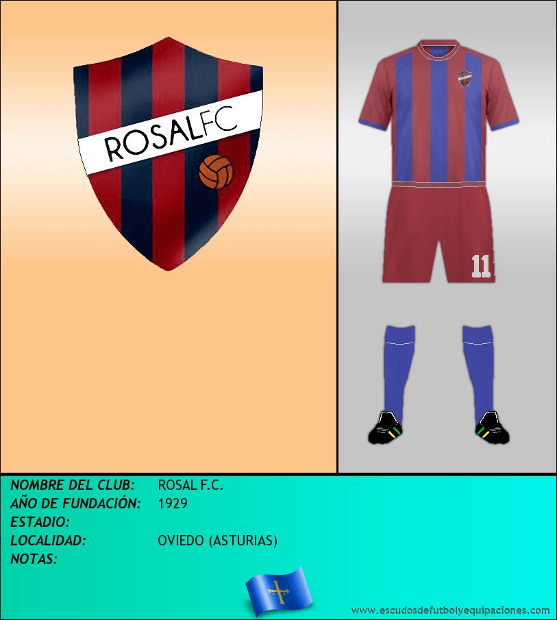 Escudo de ROSAL F.C.