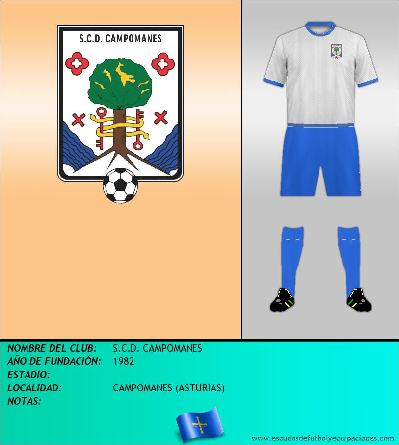 Escudo de S.C.D. CAMPOMANES