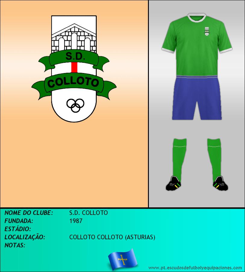 Escudo de S.D. COLLOTO