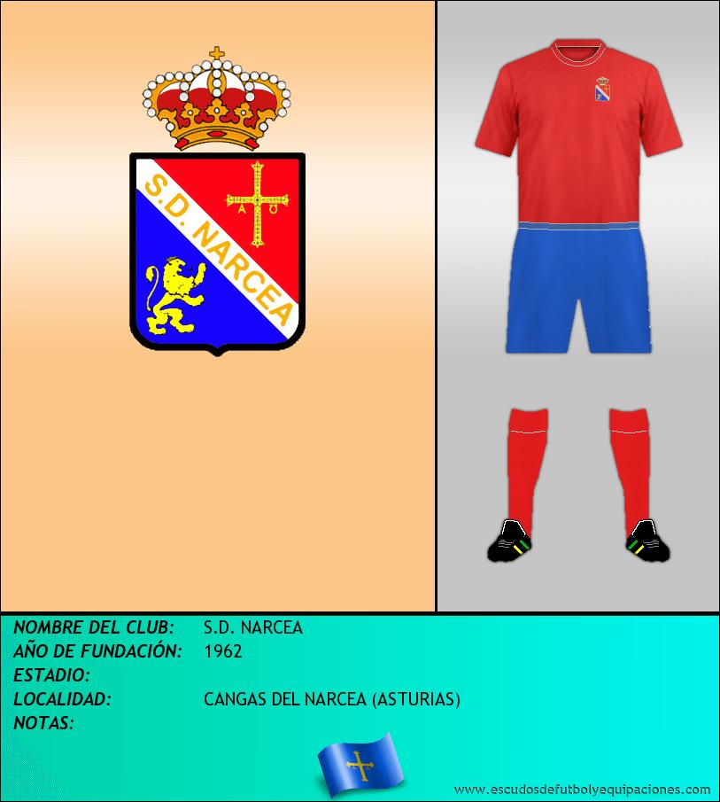 Escudo de S.D. NARCEA