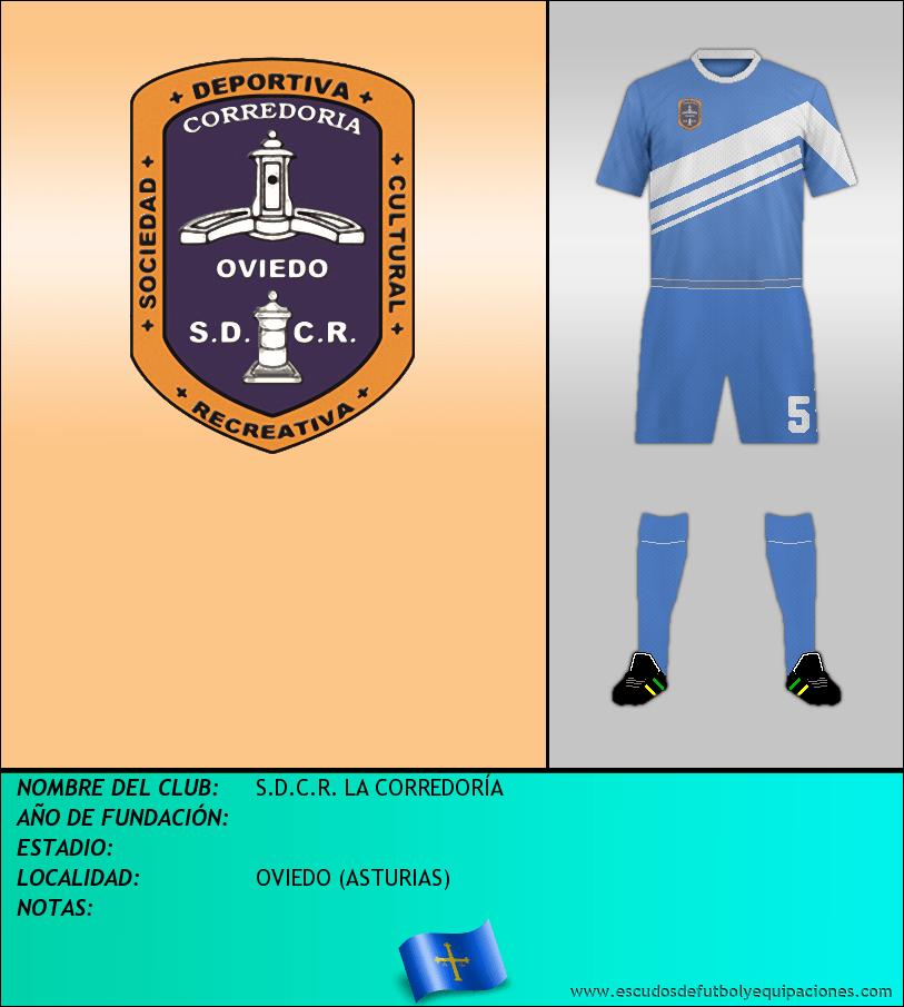 Escudo de S.D.C.R. LA CORREDORÍA