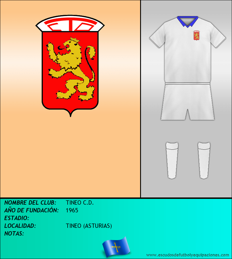 Escudo de TINEO C.D.