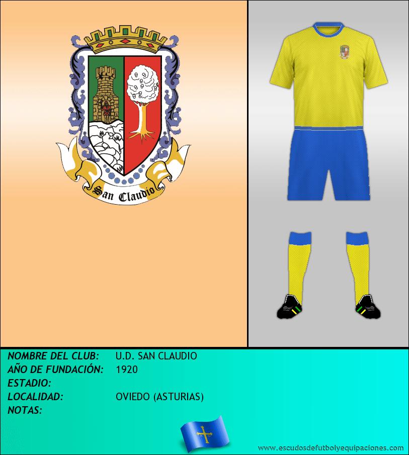 Escudo de U.D. SAN CLAUDIO