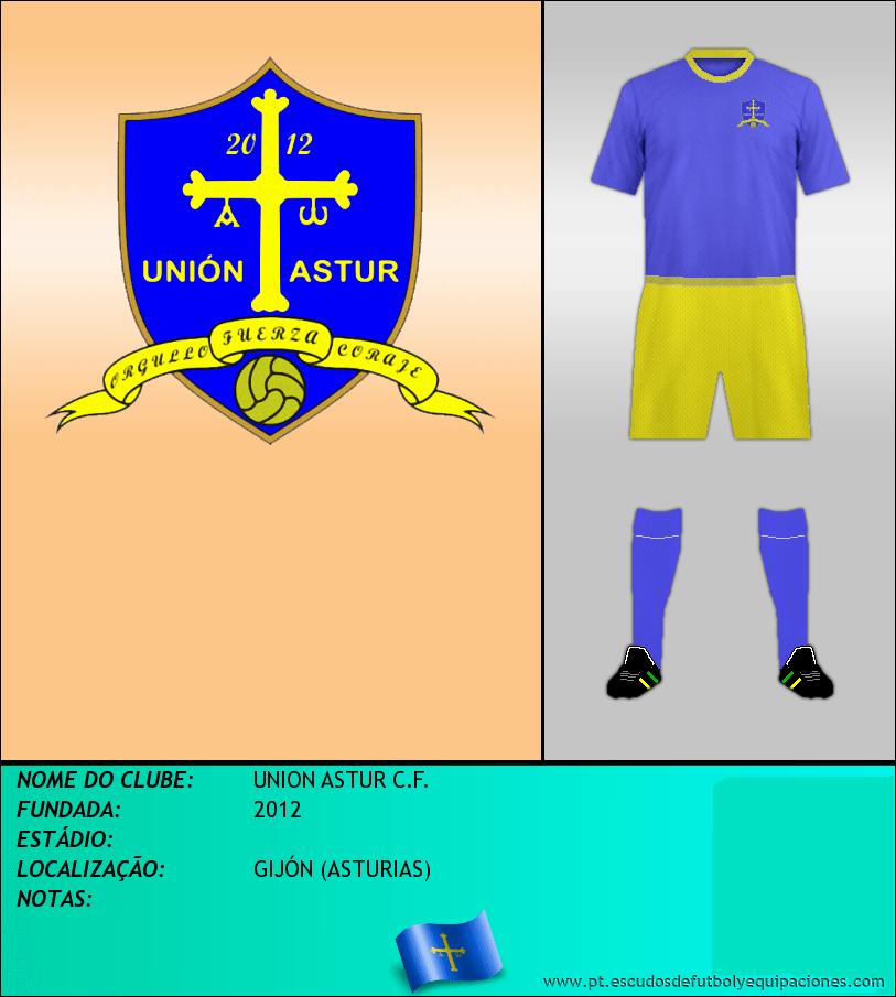 Escudo de UNION ASTUR C.F.