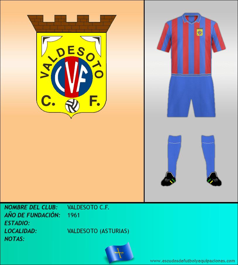 Escudo de VALDESOTO C.F.