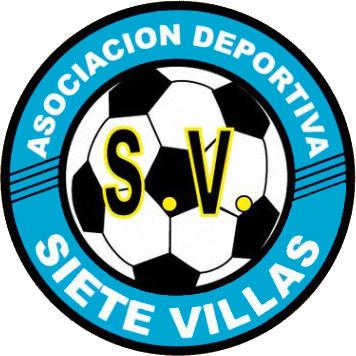 Escudo de A.D. SIETE VILLAS (CANTABRIA)