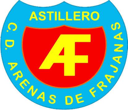 Escudo de C.D. ARENAS DE FRAJANAS (CANTABRIA)