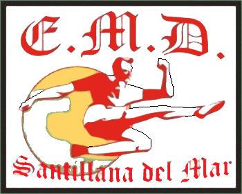 Escudo de E.D.M. SANTILLANA (CANTABRIA)