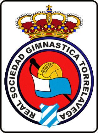 Escudo de REAL  SDAD. GIMNASTICA DE TORRELAVEGA (CANTABRIA)