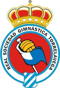 Escudo de REAL SDAD GIMNASTICA DE TORRELAVEGA (CANTABRIA)