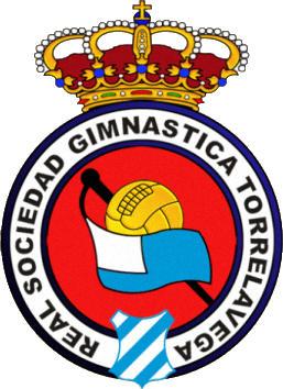Escudo de REAL  SDAD. GIMNASTICA DE TORRELAVEGA (CANTÁBRIA)